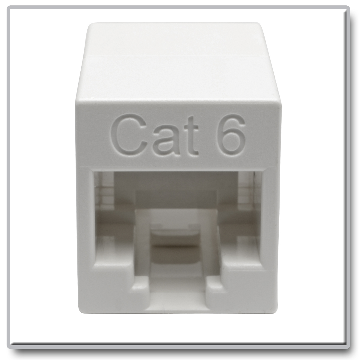 Tripp Lite Cat6 Straight Through Modular In Line Compact Coupler Wiring Diagram On Hi Power Lightning Protector Rj45 Jacks Superior Materials For Optimal Network Performance