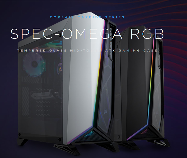 CORSAIR Carbide Series SPEC-OMEGA RGB Tempered Glass Mid-Tower ATX Gaming  Case - Newegg com