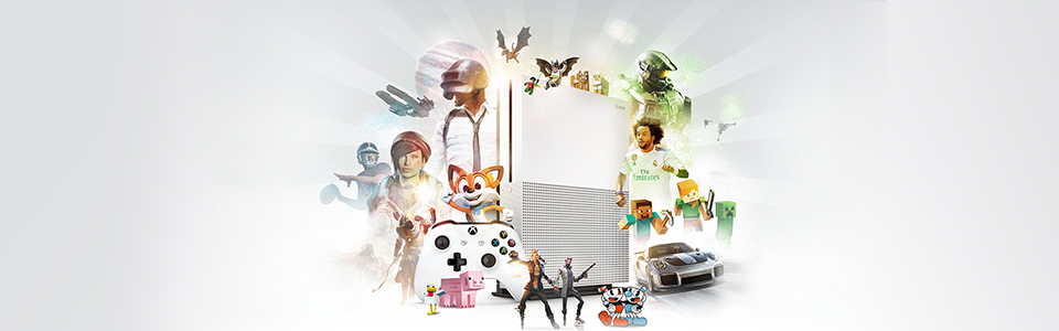 XBOX ONE S 1TB CONSOLE AND WIRELESS CONTROLLER