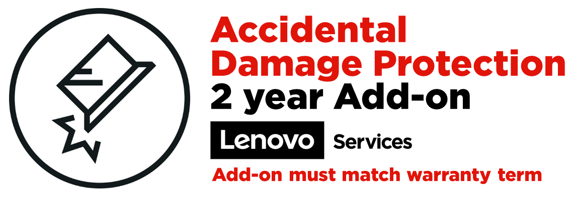 Lenovo Accidental Damage Protection Add On - accidental damage coverage - 2