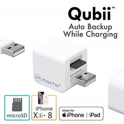 Qubii: Award-Winning iOS Accessory Does Auto Backup While Charging Your iPhone - Simultaneously
