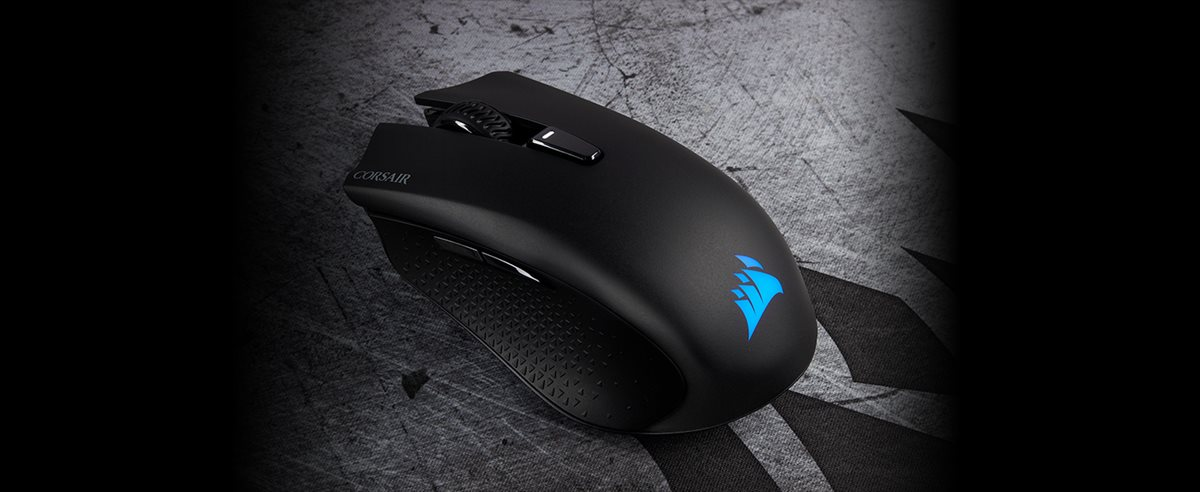 87924c7135b Corsair HARPOON RGB Wireless Rechargeable Gaming Mouse with ...