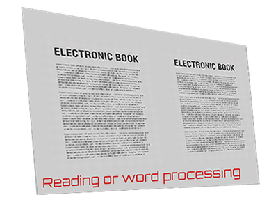 Reading or word processing