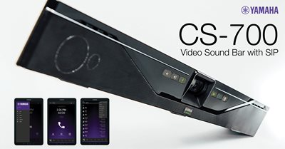 CS-700SP Video Sound Collaboration System for Huddle Rooms with SIP