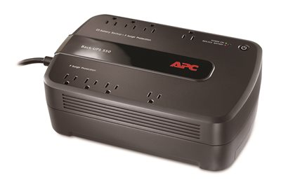 APC UPS Battery Backup & Surge Protector, 550VA (BE550G)