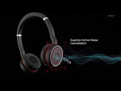 Product Jabra Evolve 75 Ms Stereo Headset With Charging Stand