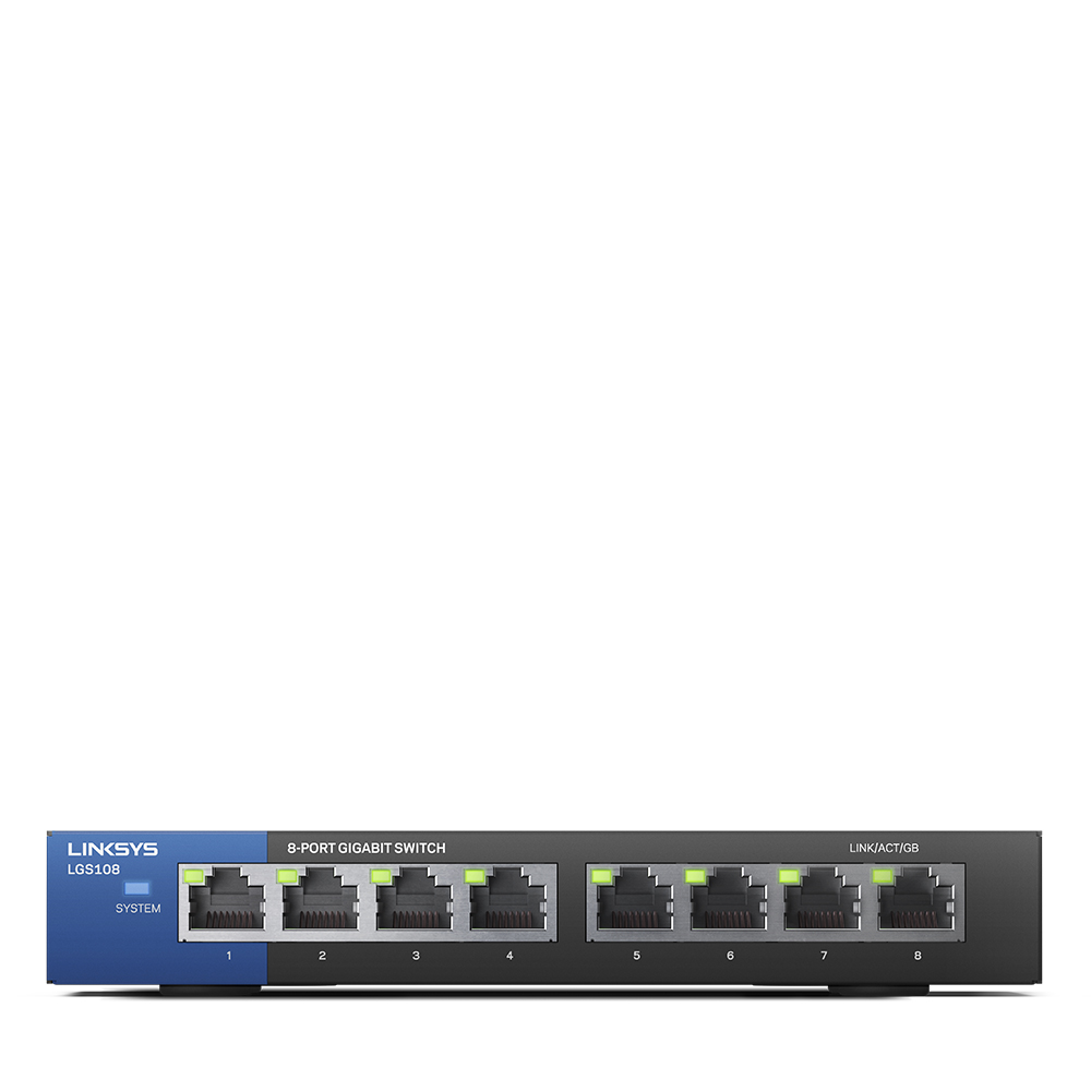 Linksys Business LGS108 - switch - 8 ports - unmanaged