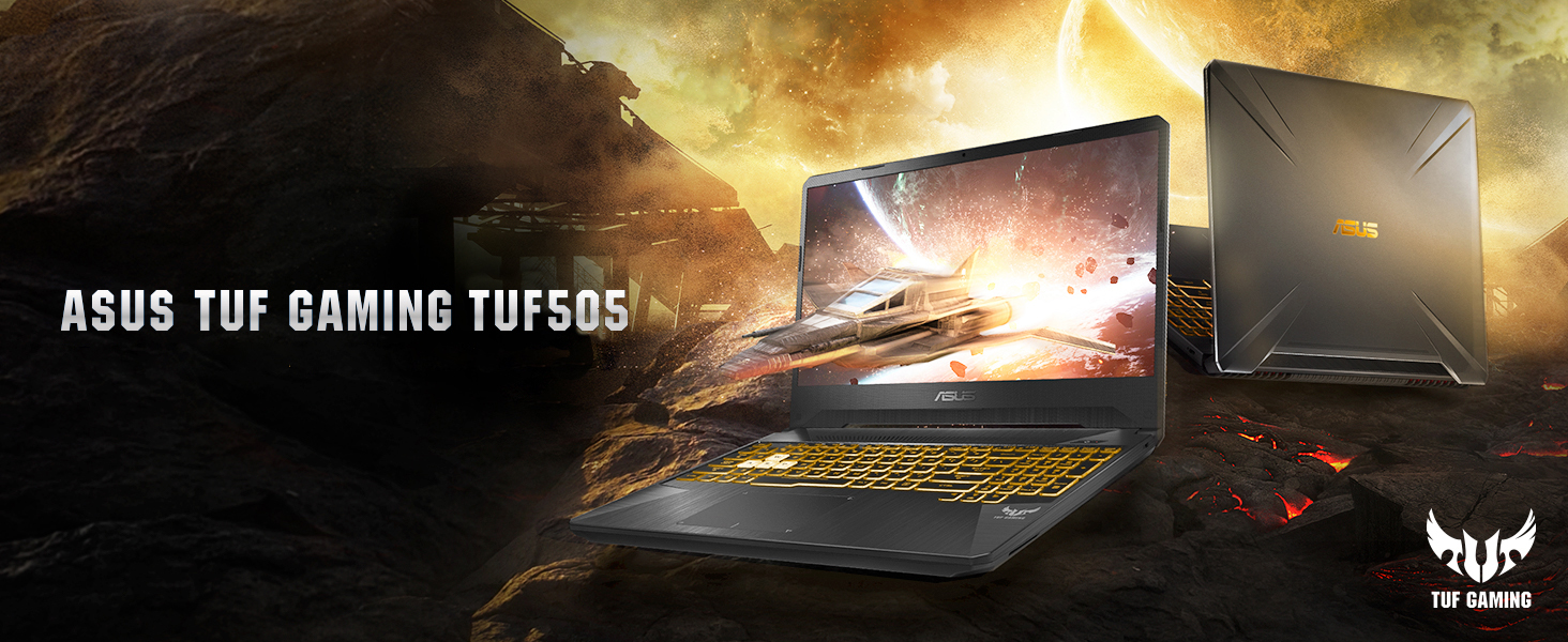 ASUS® TUF Gaming TUF505 Laptop, 15 6