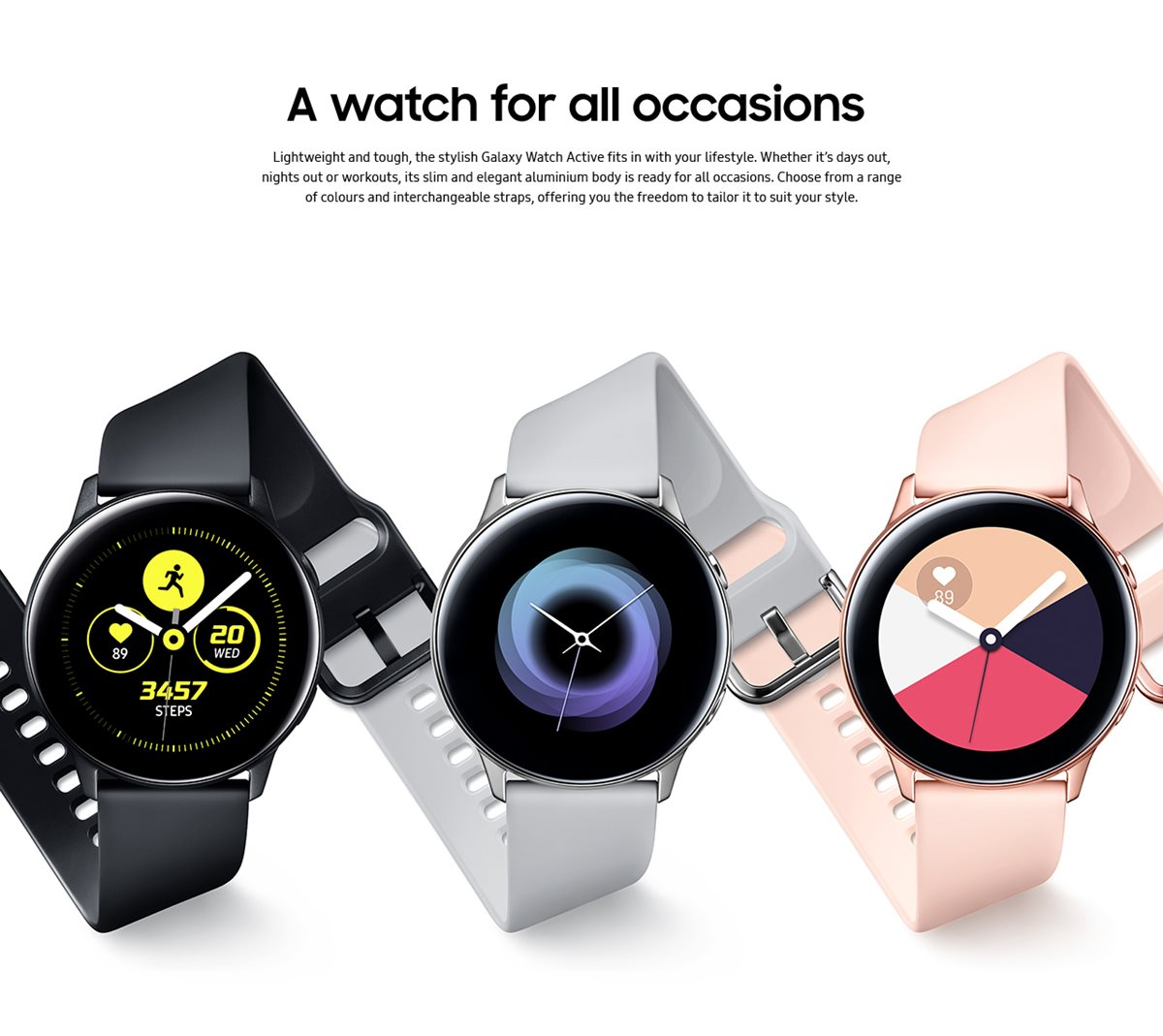 Galaxy Watch Colours