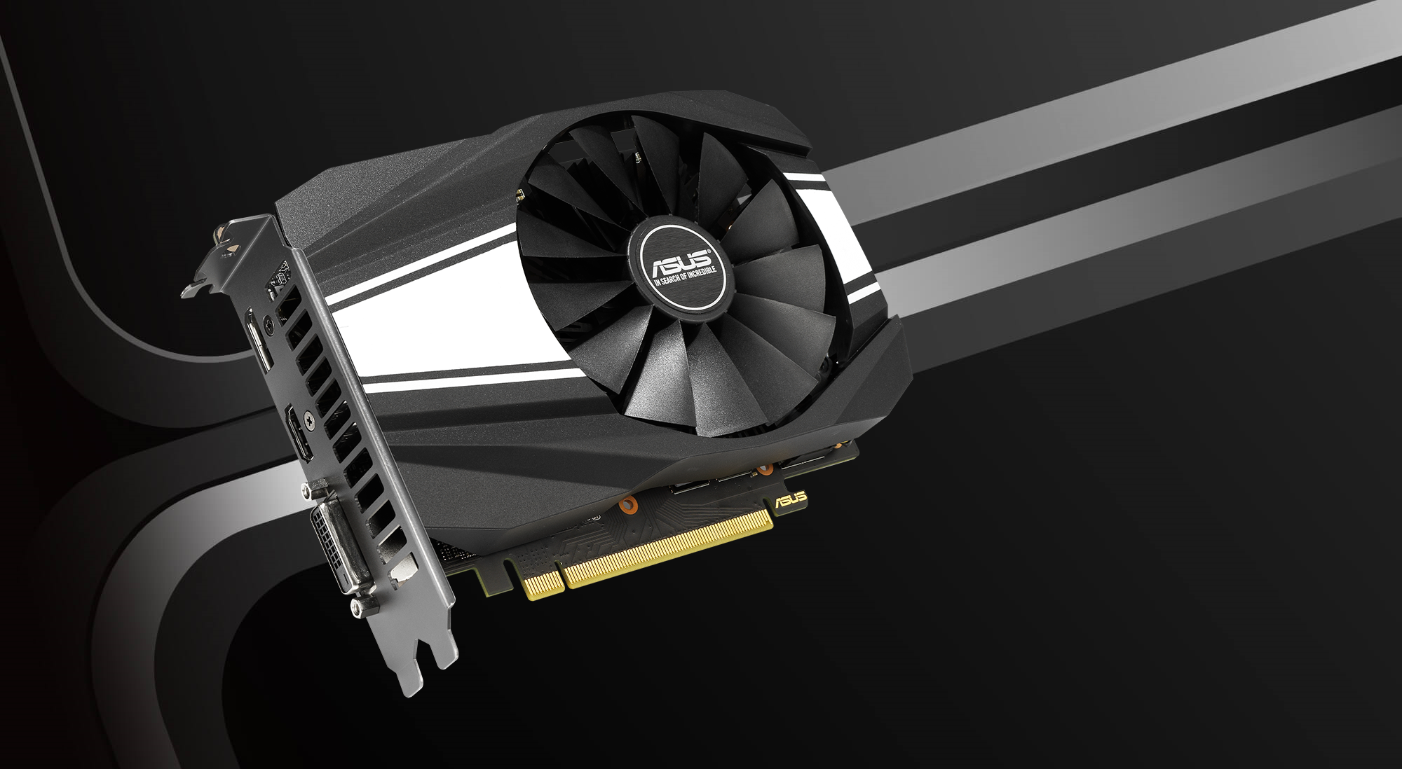 Asus NVIDIA GeForce GTX 1660 PCIe 3 0 Overclocked Graphics Card, 6GB GDDR5