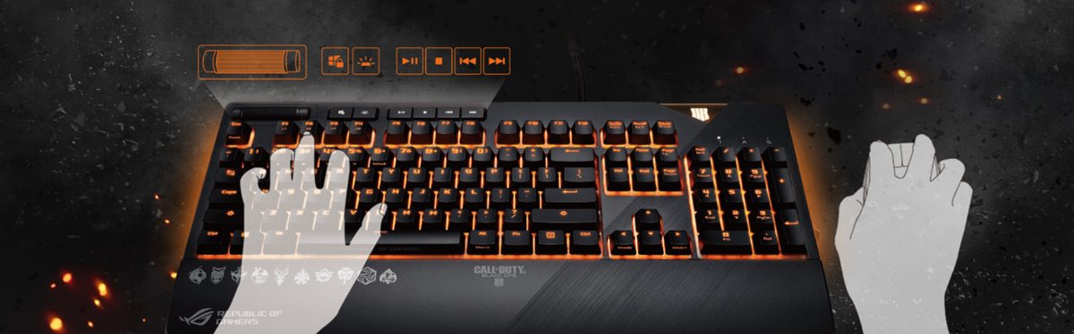 ASUS ROG Strix Flare Call of Duty - Black Ops 4 Edition