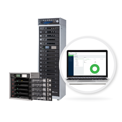 A complete hardware and software solution to efficiently charge, store, secure and manage workflow for phones, tablets, laptops and other mobile devices.