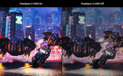 Radeon-FreeSync 2-HDR-Technologie für responsives Gameplay