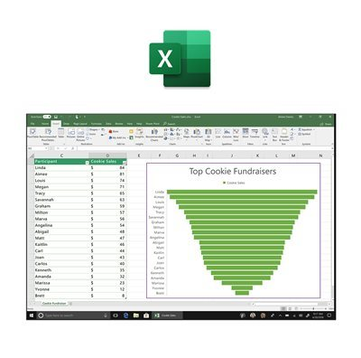 "<span style=""color: #D43C13;""> Office 2019 Excel </span>"