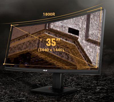 35-Zoll im immersiven Curved-Format
