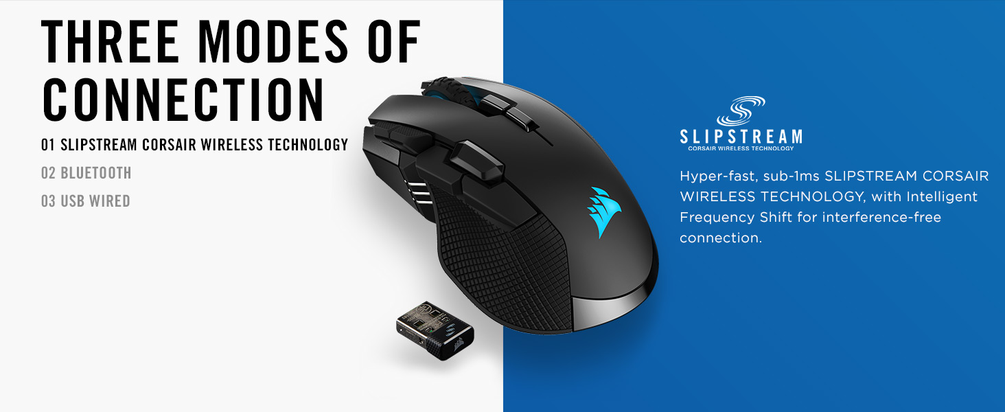 NeweggBusiness - CORSAIR IRONCLAW RGB Wireless Rechargeable