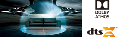 Dolby Atmos® and DTS:X® sound is here