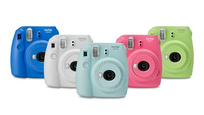 Polaroid Camera Urban Outfitters Uk : Buy instax mini 9 camera with 10 shots ice blue instant cameras