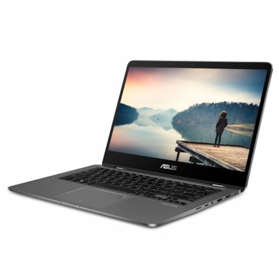 "ASUS ZenBook Flip 14 Ultra-Slim Convertible Laptop, 14"" Full HD IPS Level, 8th Gen Intel Core i5-8265U Processor, 8GB LPDDR3, 256GB PCIe SSD, Backlit, Fingerprint, Windows 10 Home - UX461FA-DH51T"