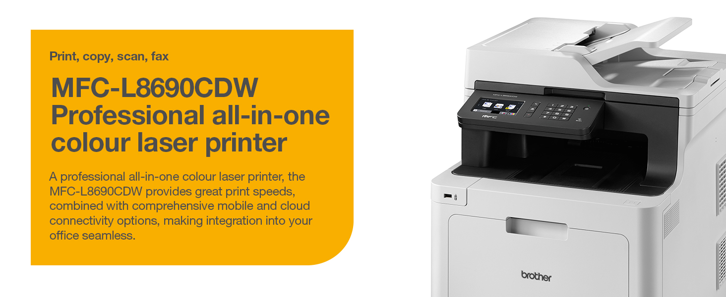 Brother MFCL8690CDW Colour MFP MFCL8690CDWZU1 Printers  Laser Printers