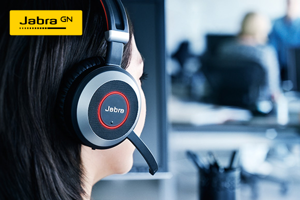 Jabra Evolve 80 Ms Stereo Headset Full Size Wired Active Noise Canceling 3 5 Mm Jack Dell Usa
