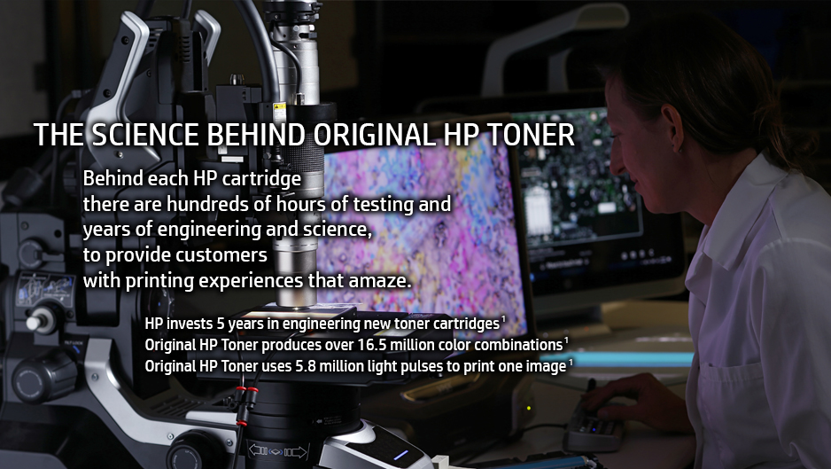 ORIGINAL HP TONER