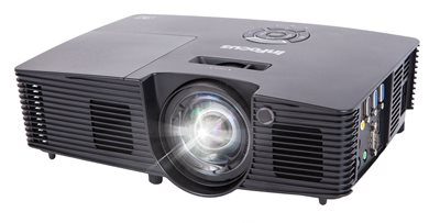 InFocus IN116xa DLP Projector, WXGA 3800 Lumens, 3D Ready,  2 HDMI with Speakers