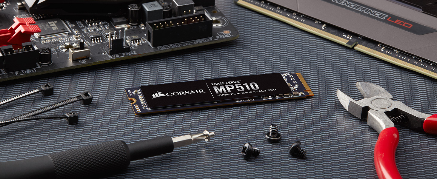 Corsair Force Mp510 M2 2280 240gb Pci Express 30 X4 Nvme 13 3d Bigger Are Circuit For Series 220v Life 3ds To Product Image