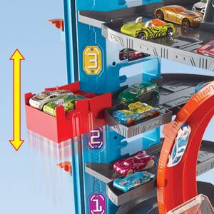 Buy Hot Wheels City Ultimate Garage With Shark Attack Toy Cars