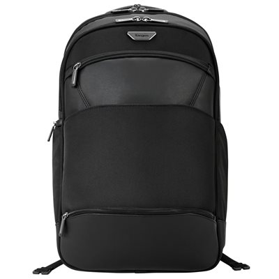 """Targus 15.6"""" Mobile ViP Checkpoint-Friendly Backpack with SafePort® Sling Drop Protection, Black (PSB862)"""