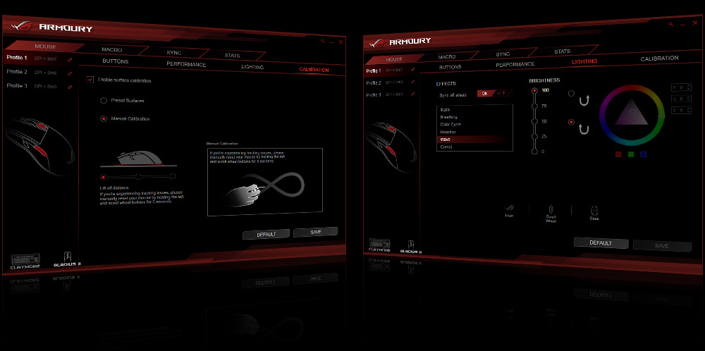 ASUS ROG Gladius II Aura Sync USB Wired Optical Ergonomic Gaming Mouse with  DPI target button - Newegg com