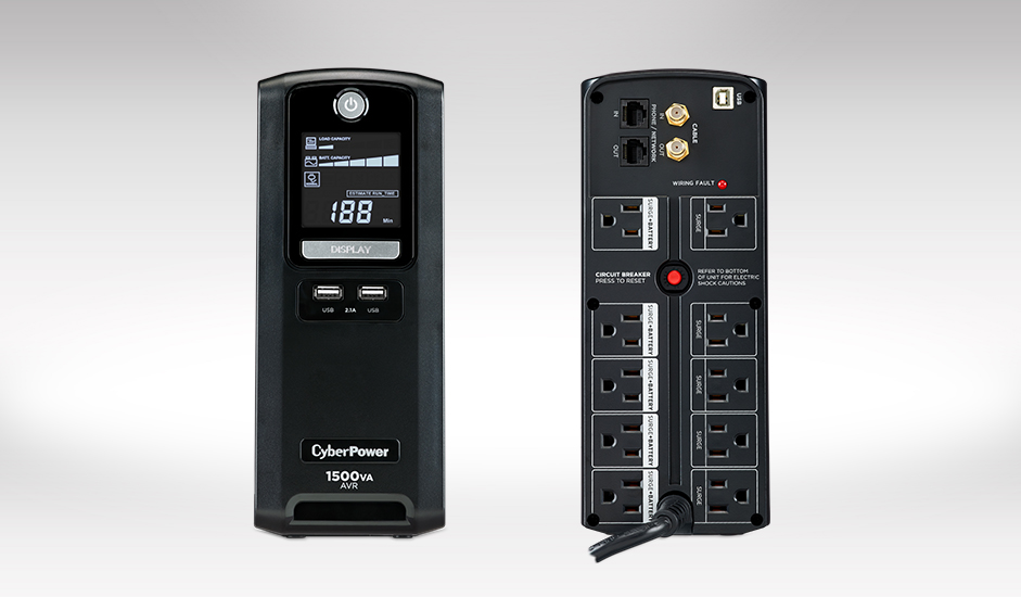CyberPower Systems LX1500GU 1500VA UPS with - Micro Center