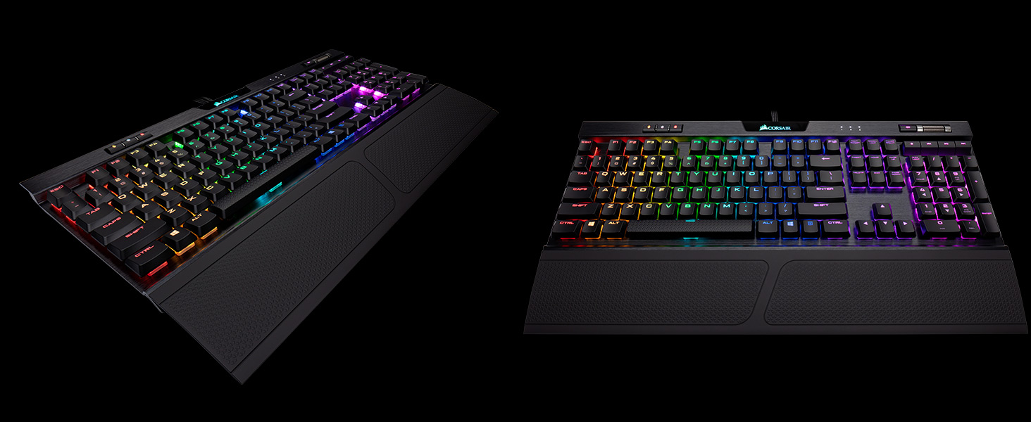 Corsair K70 RGB MK 2 Low Profile RAPIDFIRE Mechanical Gaming Keyboard,  Backlit RGB LED, Cherry MX Low Profile Speed - Newegg com