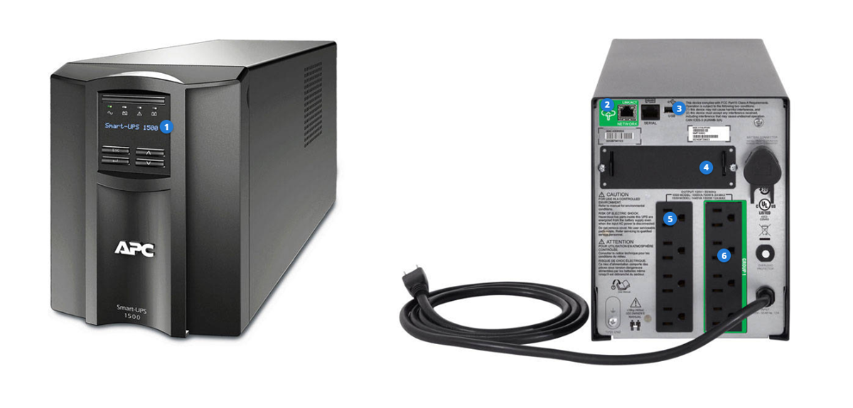 APC Smart-UPS 1500 LCD - UPS - 1 kW - 1440 VA - with APC SmartConnect
