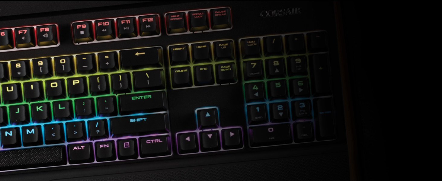 Corsair Gaming K55 RGB Keyboard, Backlit RGB LED - Newegg com