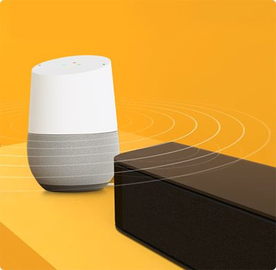 Voice Assistant Ready with Persistent Bluetooth