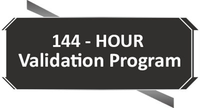 144-Hour Validation Program