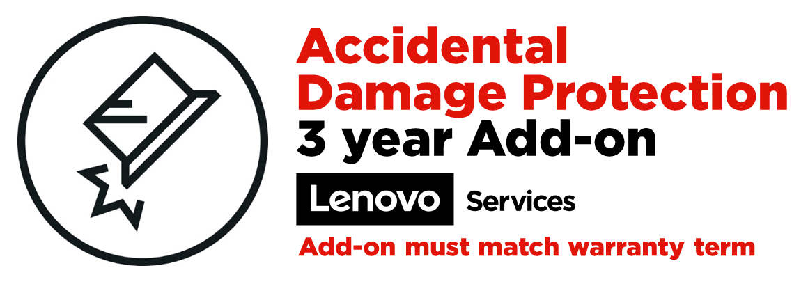 Lenovo ADP accidental damage coverage - 3 years