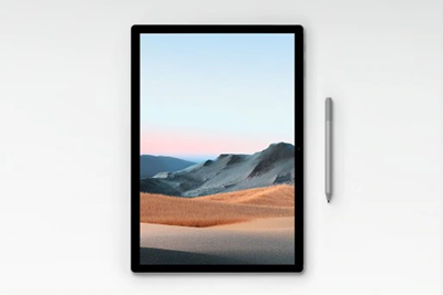 Show your work on a large, processor-powered tablet