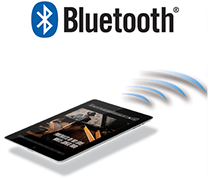 Smooth and easy Bluetooth® streaming