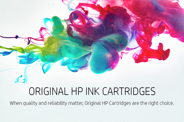 ORIGINAL HP INK CARTRIDGES