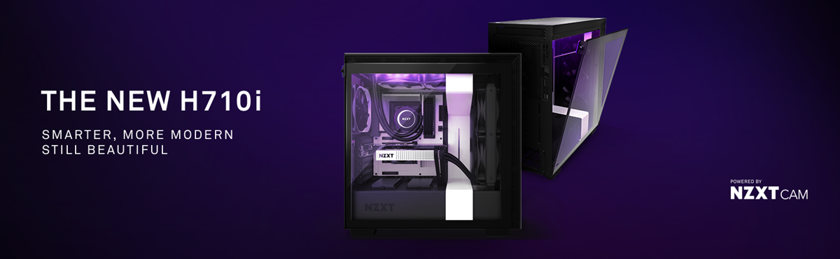 NZXT H Series H710i Cases, NEW H710i - SMARTER, MORE MODERN—STILL BEAUTIFUL , NZXT H Series, H710i , NZXT h710i Nepal , NZXT , NZXT h710i , h710i nepal, nzxt nepal , aliteq , aliteq pc, pc build nepal, nzxt mid-tower case