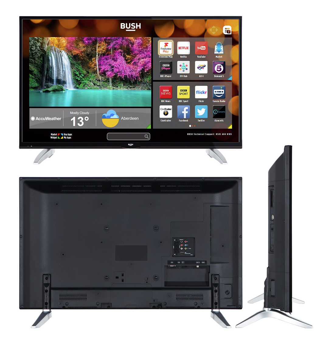 Buy Bush 43 Inch Smart 4k Uhd Tv With Hdr Televisions Argos 2 Way Hdmi Switch Check Out The Features