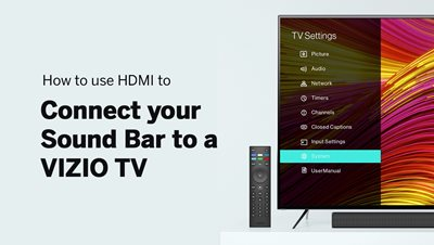 How To Connect your Sound Bar with HDMI ARC/eARC
